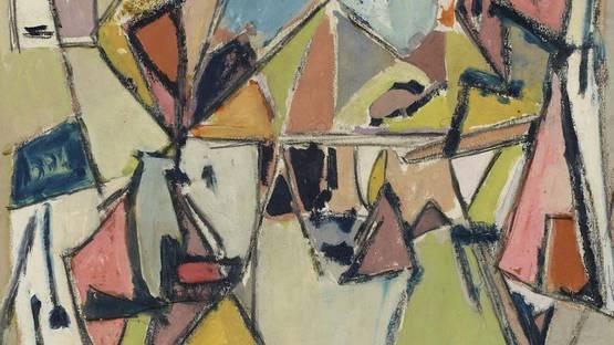 Geer Van Velde - Composition, detail