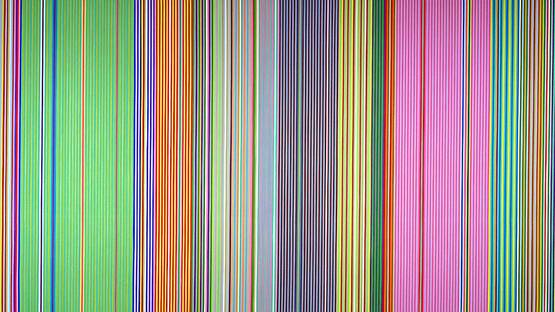 Gene Davis - Raspberry Icicle (detail), 1967, photo credits - Wikiart