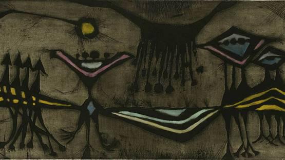 Geoffrey Clarke - Birth of a Flower, 1951 - Copyright Tate Collection