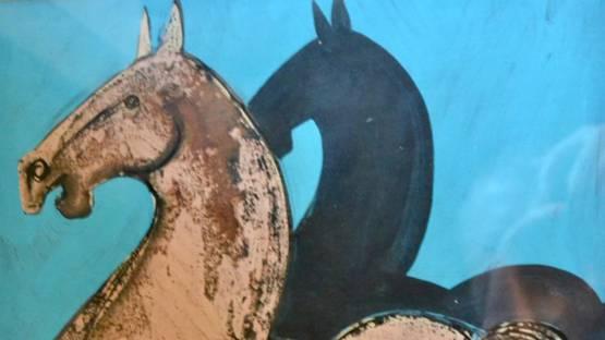 Geoffrey Key - Shadow Horse, 1978 (detail)