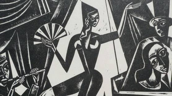 Georg Alexander Mathey - Cirque de Paris, 1922 - image via Via Libri