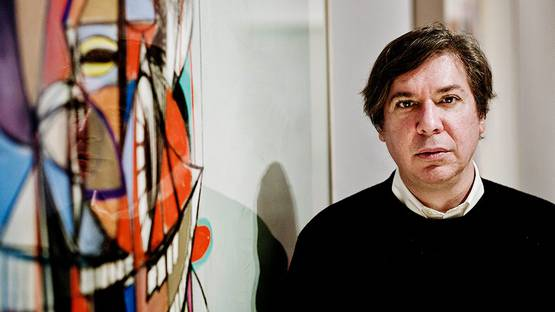 George Condo - Photo of the artist in London, 2014 - Photo via Sarah Lee