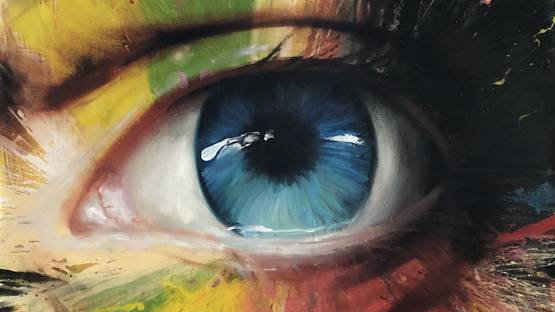 Georgi Andonov - Blue Eye (detail)