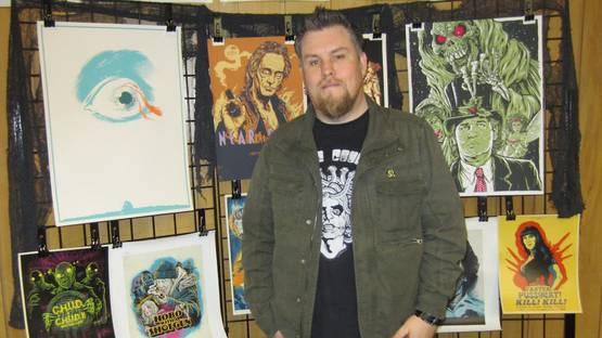 Ghoulish Gary Pullin - portrait - image via zedwordblogcom