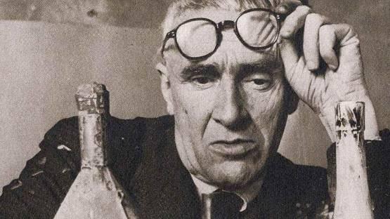 Giorgio Morandi - Photo of the artist - Image via pinterest