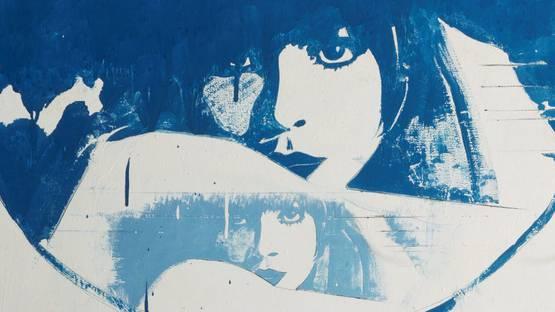 Giosetta Fioroni - Double Liberty (detail), 1965 - Image source TheRedList