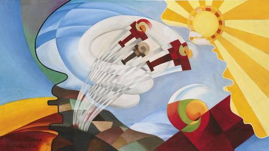 Giulio D'Anna - Evoluzioni Sui Campi, Photo Credits mutualart.com
