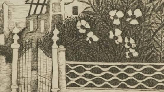 Giuseppe Viviani - Fiori e macerie, 1957 (detail)