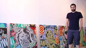 Greg Gossel portrait - Photo by Warholian