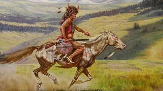 Gregory Perillo - Native American Indian - Image via rubylane
