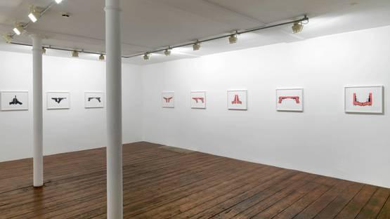 Gretchen Faust - Mudra (Installation View) - Copyright Greengrassi Gallery
