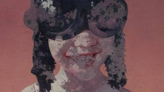 Guo Jin - Portrait of a Child (detail)
