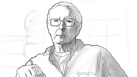 Gustav Heinze - Portrait of the artist - Image via wikipedia