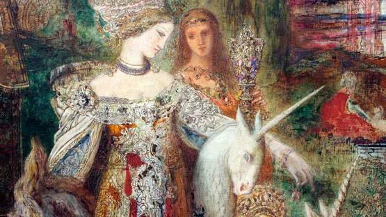Gustave Moreau - The apparition - artblart