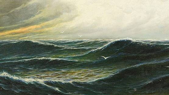 H. Pohl - Seaside (detail)
