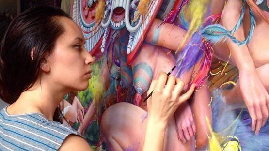 Hannah Yata - Portrait of the artist, photo credits Artisticgrouping