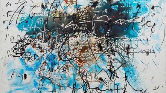 Hans Staudacher - Untitled, 1995 (detail)