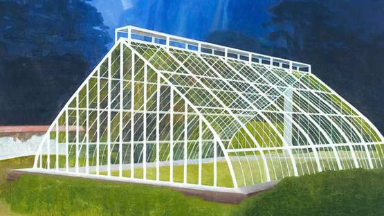 Hans Vandekerckhove - The Philosophers Greenhouse #2 (detail), photo credits - artist