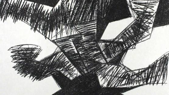 Hans Uhlmann - Erregt, 1964 (detail)