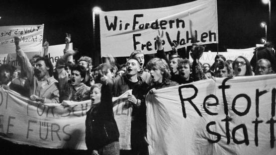 Harald Kirschner - Leipzig, 30 October, 1989