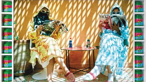 Hassan Hajjaj - Time Out, 2007 (detail)