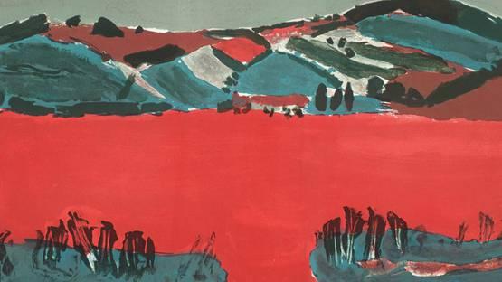 Hayden Landscape 1969 by Henri Hayden 1883-1970