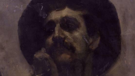 Henry Moore - Self-Portrait (Detail) - Copyright National Portrait Gallery