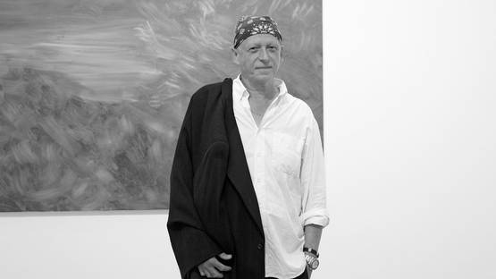 Herbert Brandl, photo courtesy Galerie Bärbel Grässlin