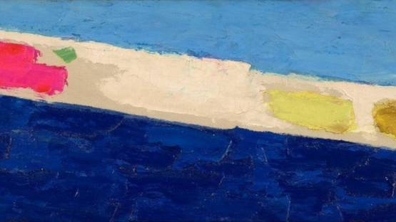 Herman Cherry - Blue Painting, 1956 (detail)
