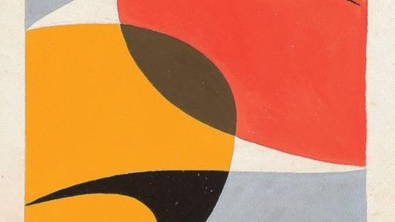 Hermelindo Fiaminghi - Untitled, 1953 (detail)