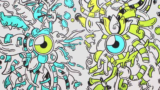 Hero - Duality, 2014 (Detail) - Image source Factory art