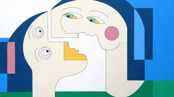 Hildegarde Handsaeme - Flying Lovers (detail), 2012