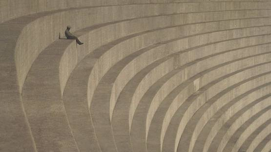 Hiromu Kira - The Thinker (detail) - 1930
