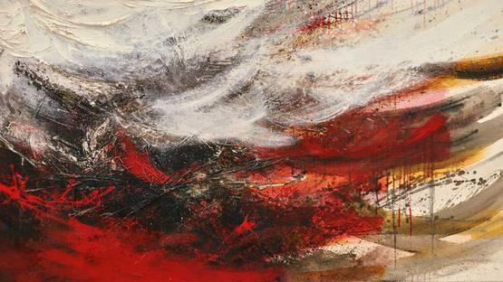 Hisao Domoto - PAINTING 1960-14 (detail)