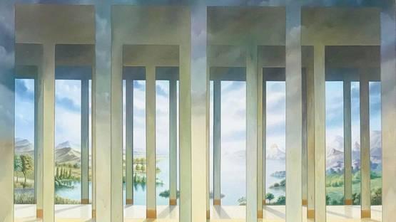 Homero Aguilar - Galeries des Glaces, 2003 (detail)