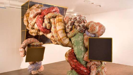 Irina Korina - Nighttime Rate (detail), 2009, installation view, photo via prudentialeyeawards
