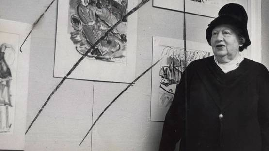 Irma Stern - Artist portrait, 1964, photo via pangamanagement.wordpress.com