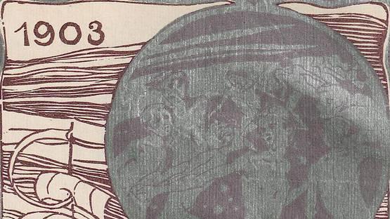 Irma von Dutczynska - Kreislauf der Monate (detail), 1903 - image via wikimediaorg