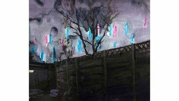 Istvan Betuker - acrylics on canvas