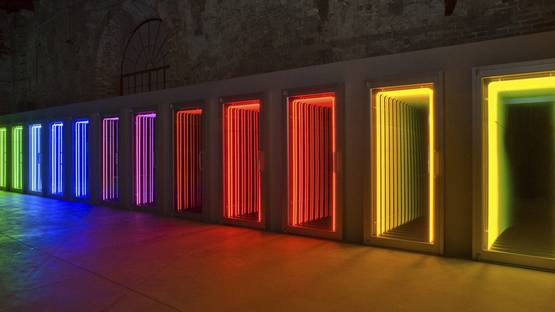 Ivan Navarro - Threshold, 2009, from 53rd Venice Biennial
