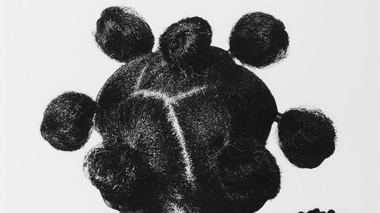 J.D. Okhai Ojeikere - Untitled, detail - image courtesy of Magnin