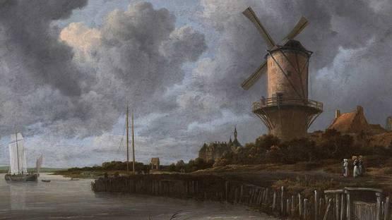 Jacob Van Ruisdael - The Windmill at Wijk bij Duurstede, 1670