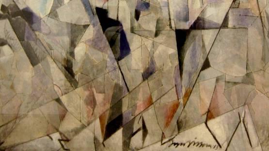 Jacques Villon - Soldats en marche (detail), 1913, photo credits - Flickr