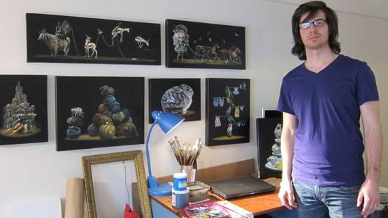 Jacub Gagnon - Portrait - Photo via arrestedmotioncom