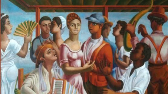 Jaime Antonio Colson - Merengue, 1938 - Image via pinterest