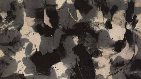 James Brooks - U, 1952 (detail)