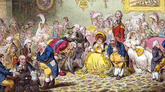 James Gillray - L'Assemblée Nationale, 1804 (Detail)
