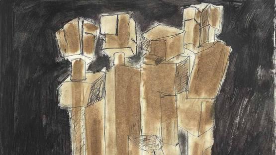 James Rosati - Untitled, 1965 (detail)