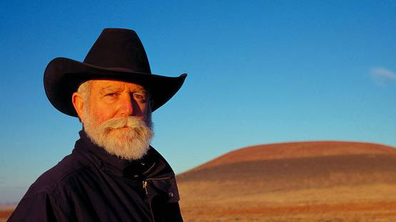 James Turrell - portrait - photo credits Florian Holzherr