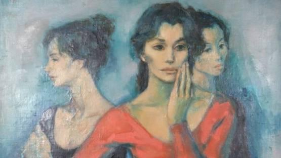 Jan De Ruth - Three Dancers, ca 1965 (detail)